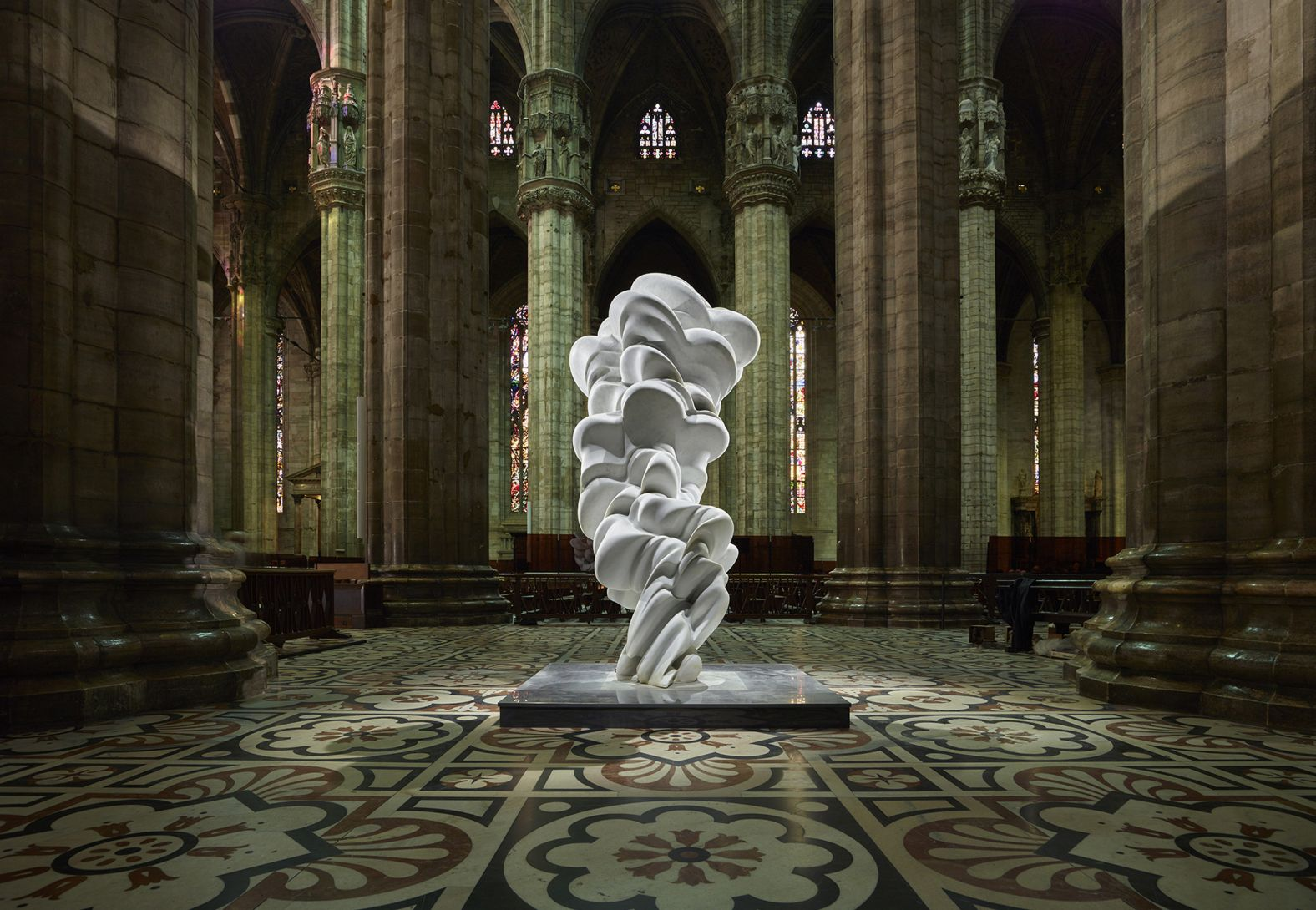 Tony Cragg, dialogue with the Duomo
