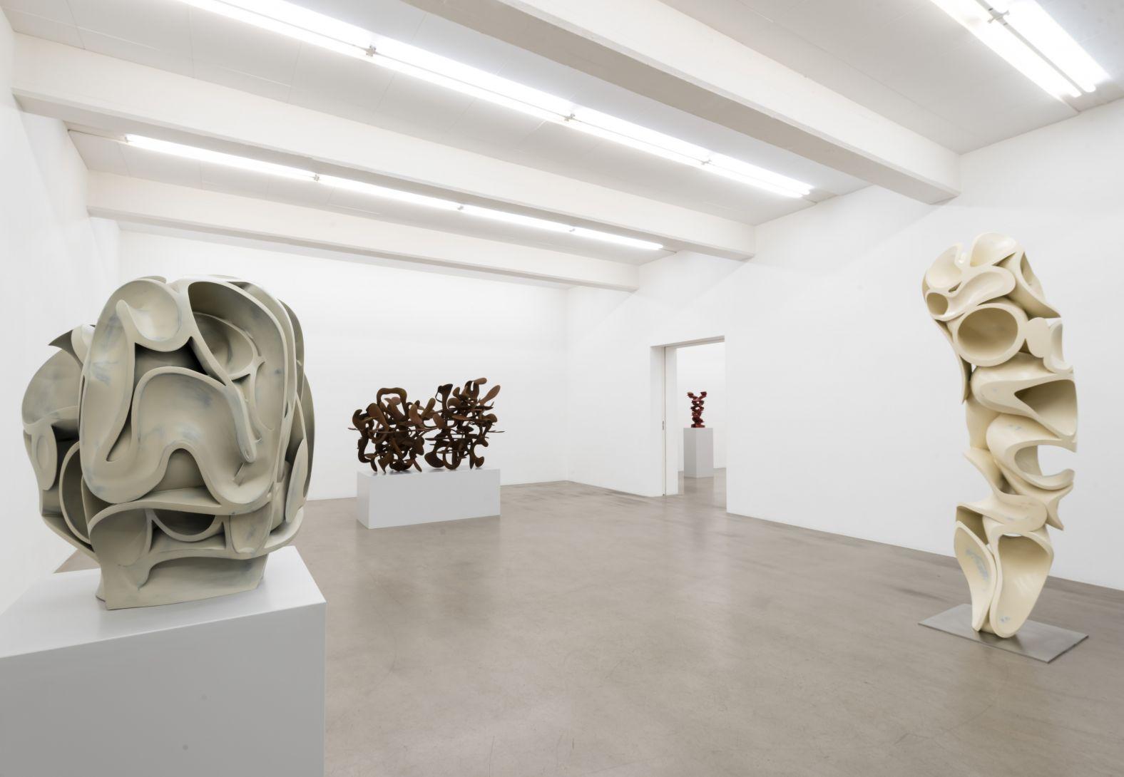 """Tony Cragg, """"Sculptures"""" - Galleri Andersson/Sandström, Stockholm"""