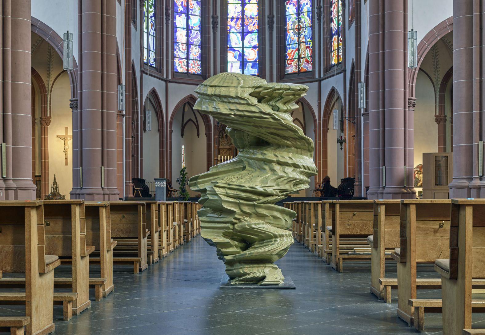 Tony Cragg in der St.Agnes-Kirche, Köln