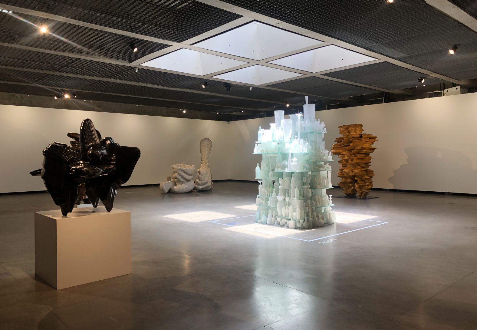 Tony Cragg -Espécies Raras- in Museu Brasileiro da Escultura e Ecologia, São Paulo